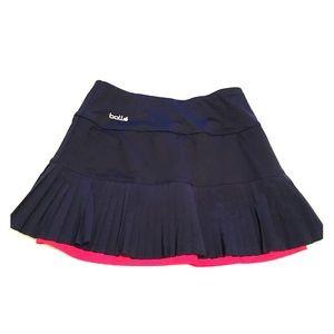 Bollé Navy tennis skirt.  XS EUC -like new!